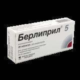 Берлиприл 5 мг № 30 табл