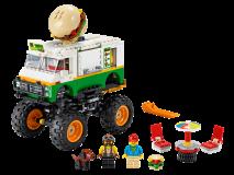 Lego игрушка Криэйтор Грузовик Монстрбургер