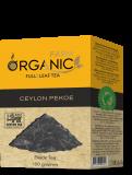Organic Farm цейлонский пекое крупнолистовой черный чай 100 г