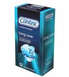 Contex презервативы Long Love с анестетиком № 12 шт