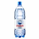 Tassay вода негаз. 1 л со вкусом клубники