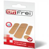 Dr.Frei комплект пластырей на тканевой основе № 20 шт
