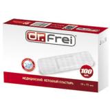 Dr.Frei медицинский нетканный пластырь в рулоне №100,  (19mm х 72mm)