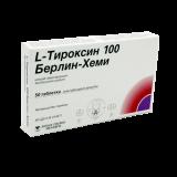 L-тироксин 100 Берлин Хеми № 50 табл