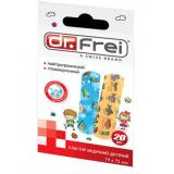 Dr.Frei пластырь для детей №20 (19mm х 72mm)