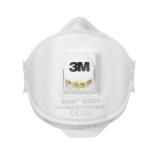 3М Полумаска фильтр Aura модель 9322+ класс защиты FFP2 NR D