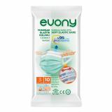 EVONY маска медицинская взрослая 10 шт/упаковка