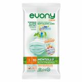 EVONY маска медицинская взрослая с ментолом 10 шт/упаковка