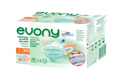 EVONY маска медицинская взрослая 50 шт/упаковка