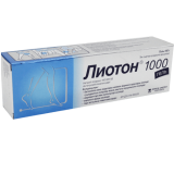 Лиотон-1000 100 гр гель