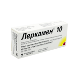 Леркамен 10 мг № 60 табл п/плён оболоч