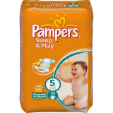 Pampers подгузники Sleepplay SSMAX S5 12*11 RC 81074049