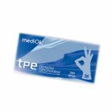 MediOk® Перчатки одноразовые из термопластичного эластомера р-р M бесцветные