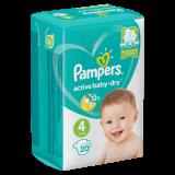 Pampers подгузники Active Baby RP № 20 шт