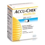 Ланцеты Accu-Chek Multiclix №24 в барабане