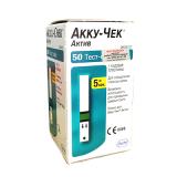 Тест-полосы Accu-Chek Active (для определения глюкозы в крови) №50