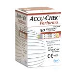 Тест-полоски Accu-Chek Performa (для определения глюкозы в крови) №50