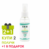 KINSAI спрей антисептик дизенфицирующий (Kills 99.9% Germs) для рук 50 мл  АКЦИЯ (3 шт по цене 2-х)