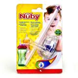 Носик Nuby силиконовый непрол. для бут. с широк. горлышком ID9852