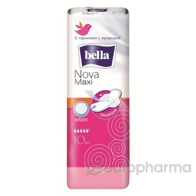 Bella прокладки Nova maxi гигиенические № 10 шт