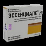 Эссенциале Н 250 мг, 5 мл, №5, амп.