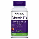 Natrol Витамин Д3 2000МЕ №90 быстрорастворимые таблетки