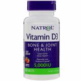 Natrol Витамин Д3 5000МЕ №90 быстрорастворимые таблетки