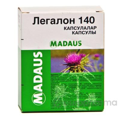 Легалон 140 мг, №30, капс.