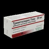 Триметазидин-Тева 20 мг № 60 табл покрытые оболочкой