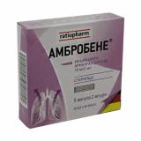 Амбробене раствор д/инъекций 15 мг/2 мл № 5 амп