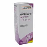 Амбробене 15 мг/5 мл 100 мл сироп