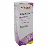 Амбробене 7,5 мг/мл 100 мл раствор для приема внутрь и ингаляций