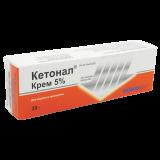 Кетонал 5% 30 гр крем