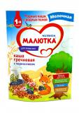 Малютка каша гречневая с черносливом молочная для детей с 4 месяцев 220 г