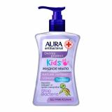 Aura Крем-мыло антибактериальное KIDS флакон/дозатор 250 мл