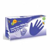 Перчатки «BeeSure» смотровые нитриловые неопудренные  н/с р-р M