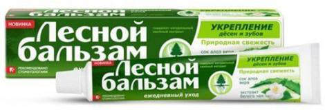 """Лесной бальзам зубная паста """"Алоэ вера и БелЧая"""" 75 мл"""