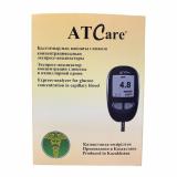Глюкометр AT Care для опред.уровня глюкозы в крови №1