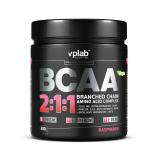 VPLab комплекс аминокислот BCAA 2:1:1 банка 300 г малина