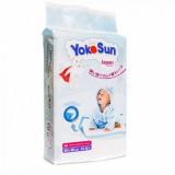 YokoSun одноразовые пеленки 60 х 90 детские п/эт пакет № 10 шт
