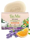 BioMio BIO-SOAP туалетное мыло Апельсин лаванда и мята 90 г