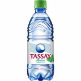 Tassay вода газированная пластик 0.5 л мята