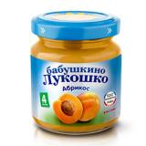 Бабушкино лукошко  пюре абрикос 100 гр