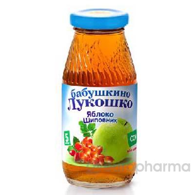 Бабушкино лукошко сок яблочно-шиповниковый 200 мл