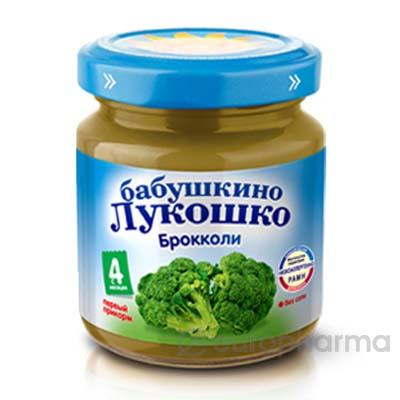 Бабушкино лукошко пюре 100 гр капуста брокколи