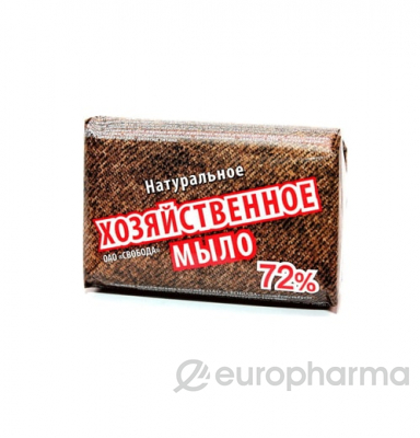 Мыло хозяйственное 72% 150 гр
