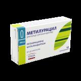 Метилурациловые № 10 суппозит. ректал.