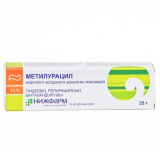 Метилурациловая 10%, 25 гр, мазь