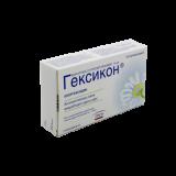 Гексикон 16 мг № 10 вагин. суппозитории