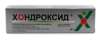 Хондроксид 5%, 30 гр, гель